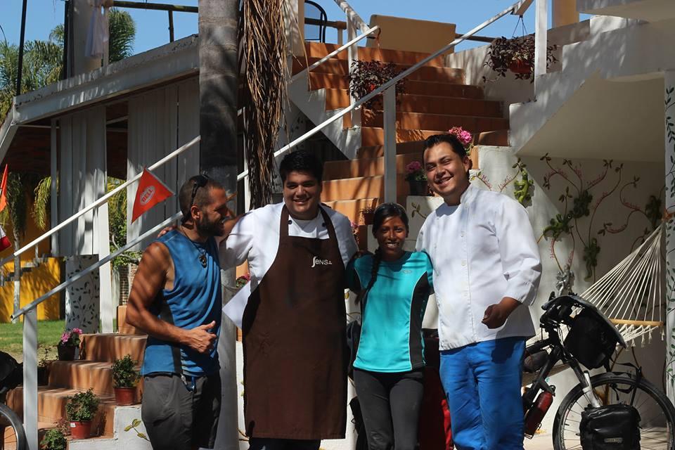 Dos días espectaculares en la casa-restaurante de Nacho, Nahualli.