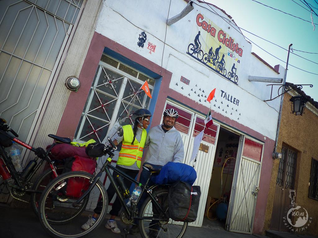 Maravillosa estancia con Rosendo y Fani en Casa Ciclista Zamora