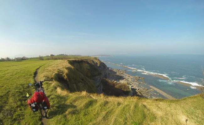 Vivir en Bicicleta La bella Cantabria,
