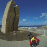 Monumento por el Prestige, en Muxía
