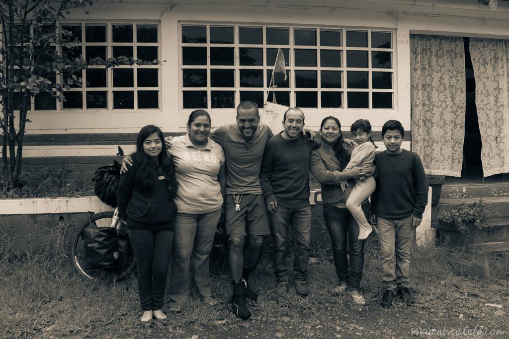 La familia de Pedro me regaló las dos primeras noches en Guate